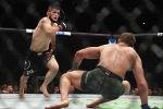 UFC уюмунун чемпиону, россиялык белгилүү мушкер Хабиб Нурмагомедов. Архивдик сүрөт