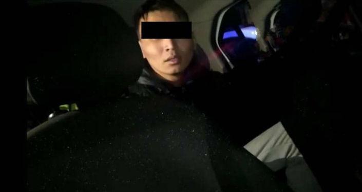 Подозреваемый в избиении молодого человека в центре Бишкека