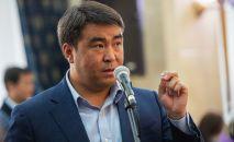 Жогорку Кеңештин депутаты Жанар Акаев. Архив