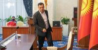 Садыр Жапаров на заседании ЖК в госрезиденции Ала-Арча