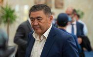 Председатель ГКНБ Камчыбек Ташиев. Архивное фото
