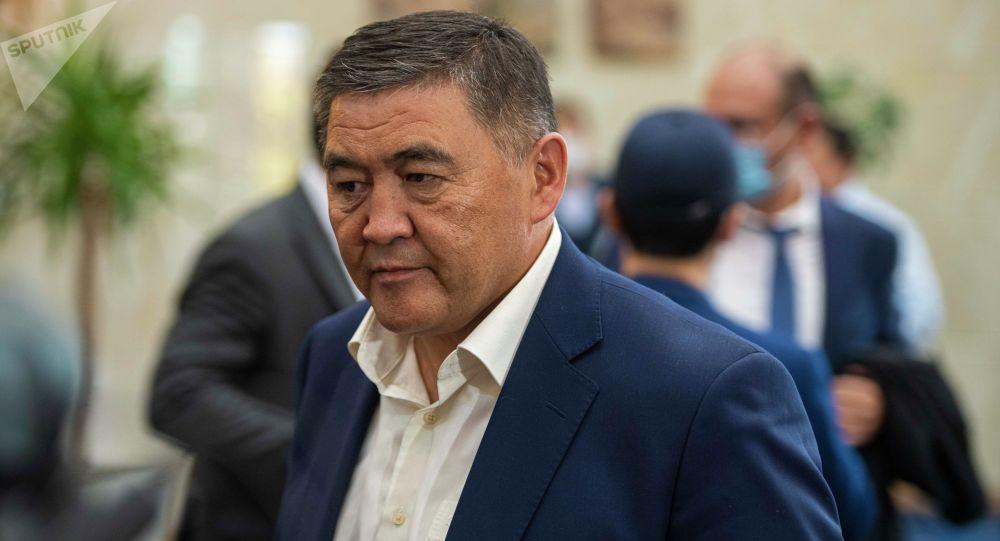 Назначенный председателем ГКНБ Камчыбек Ташиев. Архивное фото