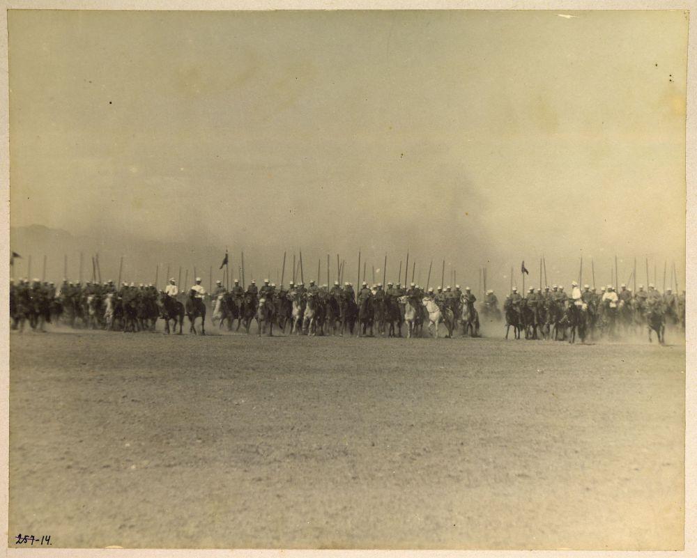 1909 год. Российская империя. Кадры из фотоальбома Сибирского казачьего войска.