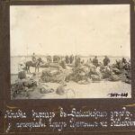Кочевка кыргызов в Зайсанском уезде у переправы через Иртыш на Калабеке — так фотограф подписал снимок.