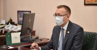 И.о. президента, премьер-министр КР Садыр Жапаров встретился с председателем НБКР Толкунбеком Абдыгуловым