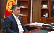 Премьер-министр Садыр Жапаров. Архив