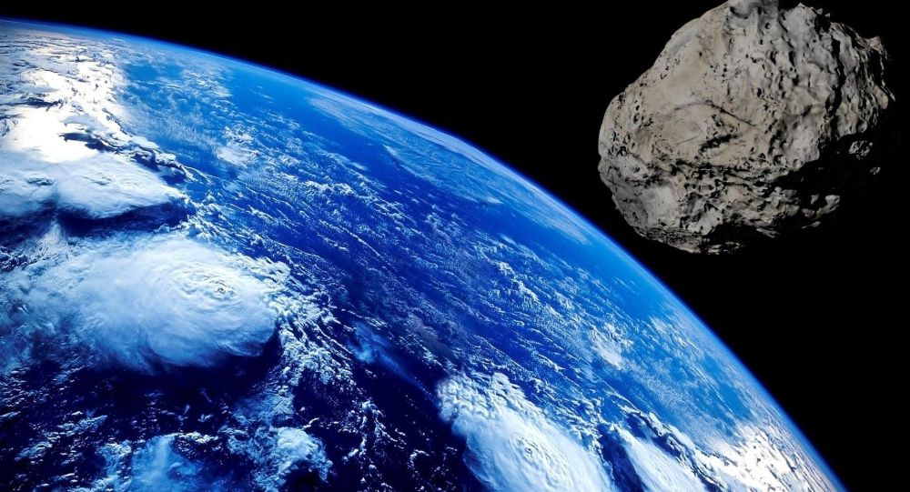 Астероид. Иллюстративдик сүрөт
