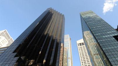 Небоскреб Башня Трампа (слева) в Нью-Йорке. Архивное фото