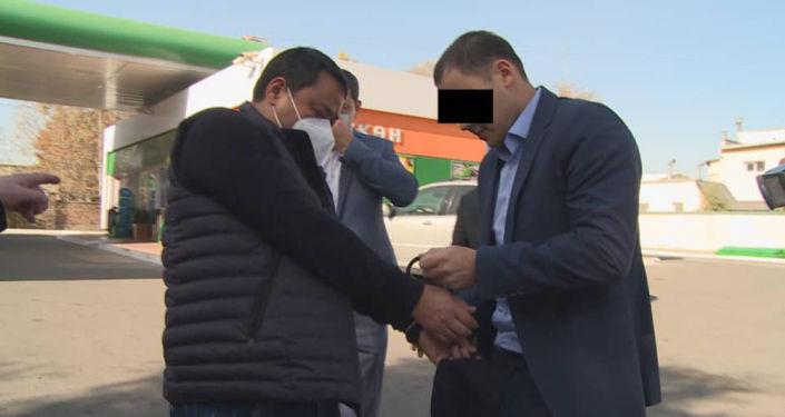 Райымбек Матраимов задержан в Бишкеке сотрудниками ГКНБ КР. 20 октября 2020 года