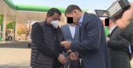 Задержание Райымбека Матраимова сотрудниками ГКНБ. Архивное фото
