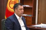 Президенттин милдетин аткаруучу, премьер-министр Садыр Жапаров