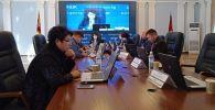 Заседание центральной избирательной комиссии в Бишкеке. Архивное фото