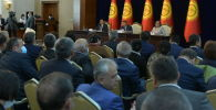 Ала-Арча мамлекеттик резиденциясында өткөн депутаттарынын жыйыны