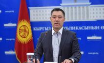И.о. президента Кыргызстана, премьер-министр Садыр Жапаров