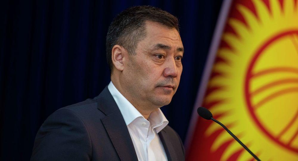 Исполняющий обязанности президента КР Садыр Жапаров