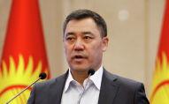 Премьер-министр КР Садыр Жапаров
