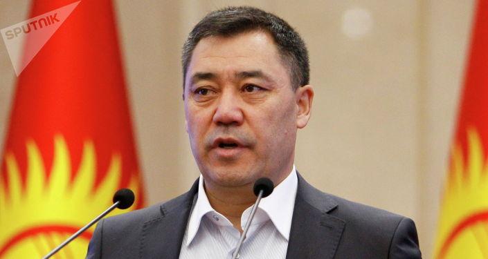И. о. президента, премьер-министр Садыр Жапаров