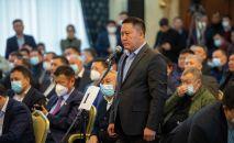 Депутат Курманкул Зулушевдин архивдик сүрөтү
