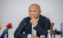 Бишкек шаарынын мэринин милдетин аткаруучу Нариман Түлеев. Архивдик сүрөт