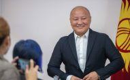 Лидер партии Ак-Бата, экс-мэр Бишкека Нариман Тюлеев. Архивное фото