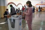 Ход голосования на выборах седьмого созыва ЖК. Архивное фото