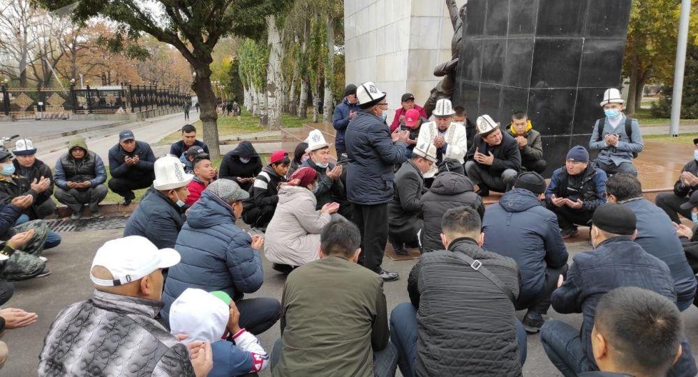 Поминальная молитва погибшему 19-летнему Умутбеку Алтынбеку улуу