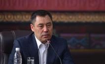 Исполняющий обязанности президента, премьер-министр Кыргызской Республики Садыр Жапаров. Архивное фото