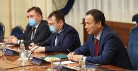 Тышкы иштер министри Руслан Казакбаев Россияга болгон иш сапары учурунда