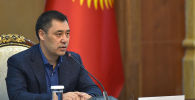Исполняющий обязанности президента Кыргызстана Садыр Жапаров. Архив