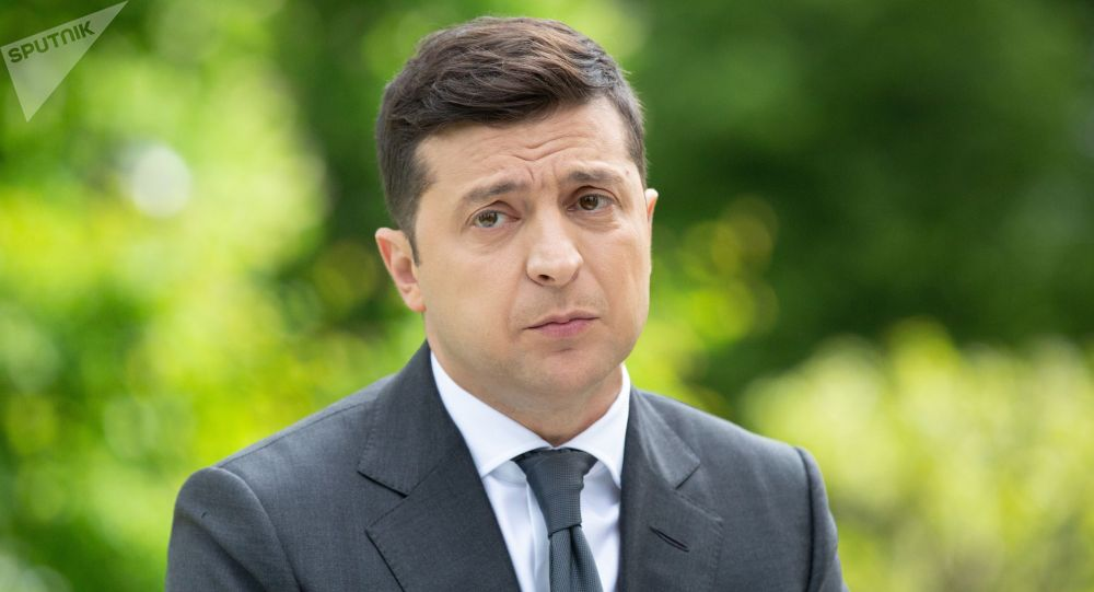Украина президенти Владимир Зеленский. Архивдик сүрөт