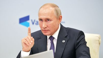 Россия президенти Владимир Путин Валдай дискуссиялык клубунун жыйынында