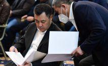 Исполняющий обязанности президента Кыргызстана Садыр Жапаров. Архивное фото