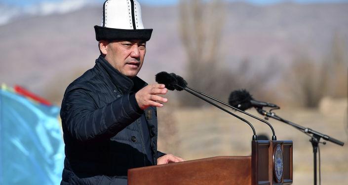 Состоялась рабочая поездка исполняющего обязанности Президента, Премьер-министра Кыргызской Республики Садыра Жапарова в Кочкорский район Нарынской области. 25 октября 2020 года
