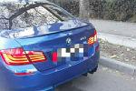 Автомобиль BMW X5 с подложным госномером