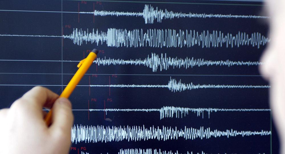 Показания магнитуды землетрясения. Иллюстративное фото