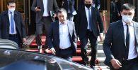 Президенттин милдетин аткаруучу, премьер-министр Садыр Жапаров. Архивдик сүрөт