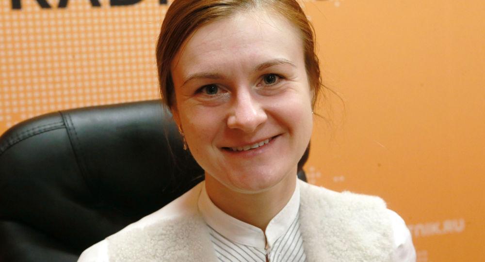 Политическая активистка Мария Бутина в студии радио Sputnik.