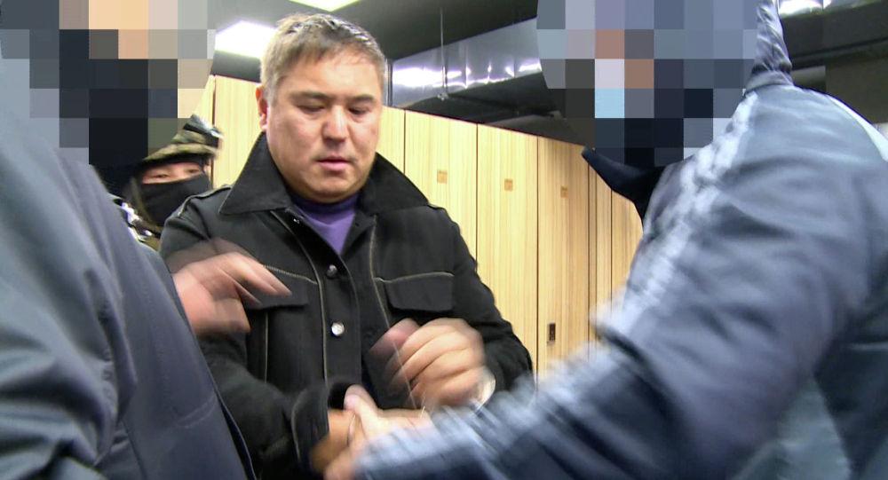 Задержанный криминальный авторитет Камчы Кольбаев. Архивное фото