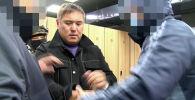 Задержанный по подозрению в создании преступной группы криминальный авторитет Камчы Кольбаев