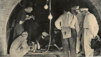 Уникальные фотографии вскрытия могилы Амира Темура. Архивное фото