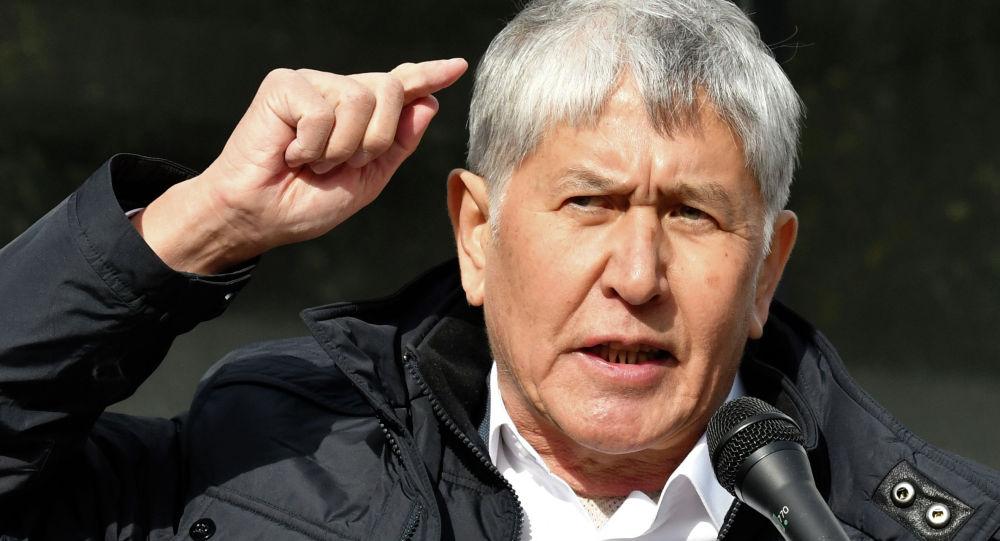 Бывший президент Алмазбек Атамбаев. Архивное фото