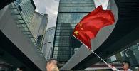 Флаг Китая. Арихвное фото