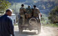Тоолуу Карабахтагы аскер кызматкерлери