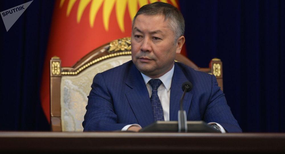 Спикер ЖК, лидер партии Кыргызстан Канат Исаев. Архивное фото