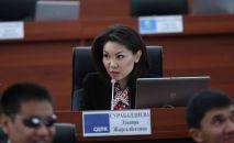 Кыргызстандын вице-премьер-министри Эльвира Сурабалдиева. Архив