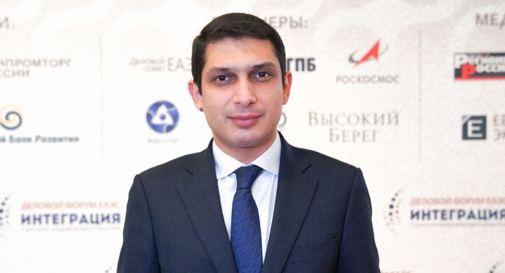 Министр ЕЭК по внутренним рынкам, информатизации и ИКТ Гегам Варданян