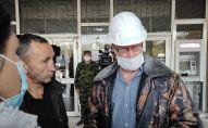 Бишкек ТЭЦ ишкананын директору Андрей Воропаев. Архивдик сүрөт