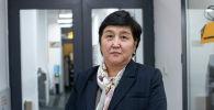 Өнөр жай, энергетика жана жер казынасын пайдалануу мамлекеттик комитетинин бөлүм башчысы Фатима Садамкулова