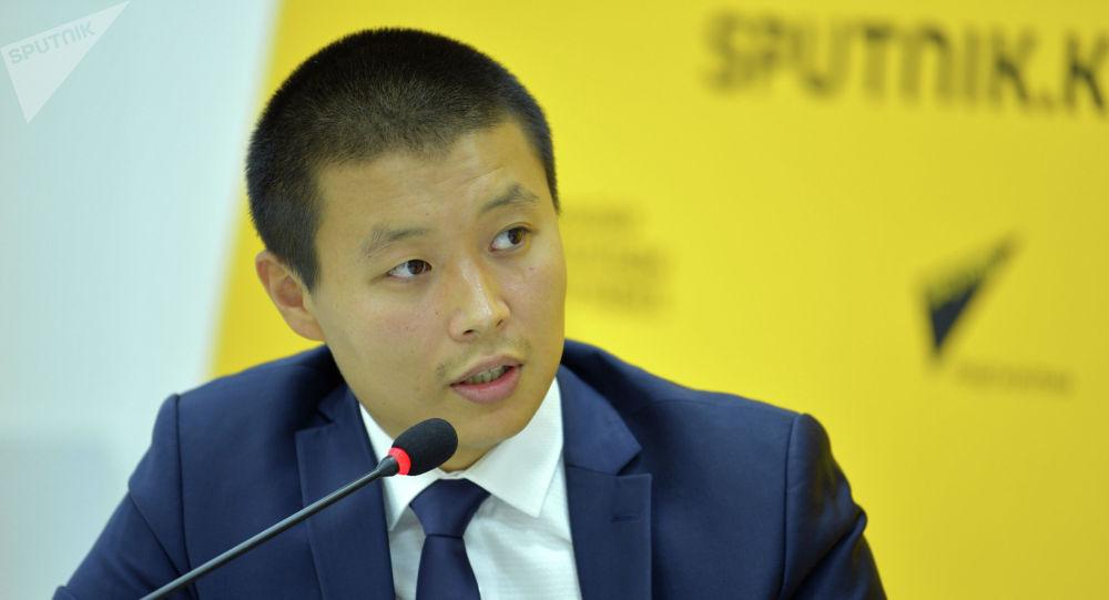 Министр сельского хозяйства, пищевой промышленности и мелиорации Тилек Токтогазиев