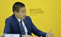 Министр сельского хозяйства, мелиорации и пищевой промышленности Тилек Токтогазиев. Архивное фото